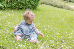 Ruby (Wayne Cappleman (Haywain Photography)) Tags: park portrait baby playing colour photography george king sitting wayne hampshire fields ruby farnborough fifth haywain cappleman