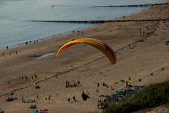 Parabeach (paraBID) Tags: sea vacation people sun house holiday beach water netherlands fun sand para dunes zeeland gliding