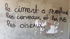 IMG_20160504_192409 (Cocomilie) Tags: wall graffiti anarchism nantes manifestation loitravail