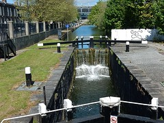 Water Levels (mikecogh) Tags: dublin waterfall lock gates levels royalcanal