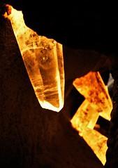 Gem Rock20140401_666 (gsas777) Tags: amber gem stones dinosaur skeleton old jurassic park fossil purple amethyst fish
