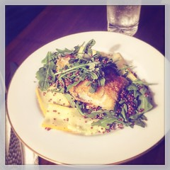 My First @blueapron with Crispy Cod and Summer Squash | #916 #food #dinner |  (zamartz) Tags: summer food dinner with first crispy squash cod | 916 blueapron my instagram ifttt