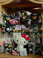tokidoki figures (serenity jenny) Tags: hello blue red cactus toy toys pups action carina vinyl kitty jr collection rocker figures choco sephora tokidoki bastardino porcino polpettina bulletto skeletrino skeletrina bibekun