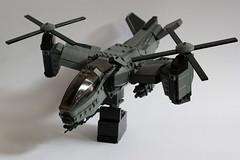 Serpent Gunship Armament 2 (Andreas) Tags: lego aircraft vtol gunship legovtol legogunship vtolgunship thepurgeeu stealthgunship eugunship