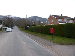 WR14 141 - Malvern, Rothwell Road 130328 location (maljoe) Tags: postbox royalmail eiir wr14