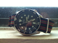 (imranbecks) Tags: watch automatic strap bond wristwatch seiko nato skx007 skx007k