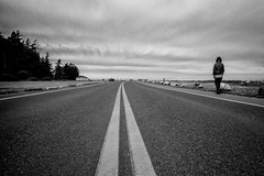 Birch Bay, Washington 01 (Brian Kushniruk) Tags: road street blackandwhite bw streetphotography washingtonstate birchbay