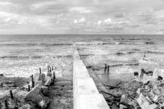 New Jetty (*Amanda Richards) Tags: jetty guyana georgetown atlanticocean breakwater atlanticcoast seadefense newjetty
