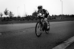 Sleaford Wheelers (Inuit Tiffny) Tags: road blackandwhite man cycling cyclist cycle wheelers roadbike timetrail sleaford