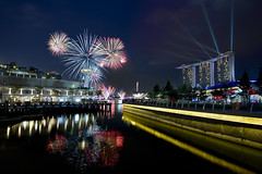 Fireworks! (hock how & siew peng) Tags: marina hotel bay singapore day cityscape fireworks parade national ndp hh sands fullerton mbs marinabay 2013 marinabaysands hockhow dsc9108 hhsp hockhowsiewpeng wwwhockhowcom