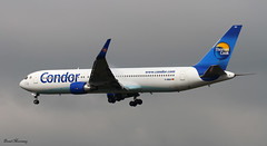 Condor 767-300ER D-ABUH (birrlad) Tags: germany airplane airport fort frankfurt aircraft aviation airplanes landing airline lauderdale boeing arrival condor airways approach airlines runway airliner 767 767330er