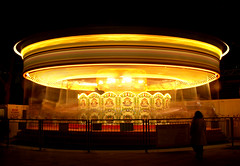 Twister (Serge Freeman) Tags: longexposure london night carousel merrygoround