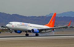 C-FLSW Sunwing Airlines Boeing 737-8HX (cn 36552/2658) (TDelCoro) Tags: mccarraninternationalairport sunwingairlines cflsw