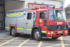 Cork County Fire Service 1991 Volvo FL6/14 HCB Angus WrL 91C16299 (Ex Dorset H695 LRU) (Shane Casey CK25) Tags: county blue b red 2 rescue ex water station k yellow truck fire lights 1 volvo angus cork pump charlie lorry e dorset fireman service 1991 firemen ladder flashing emergency ck society siren 42 41 43 brigade battenburg sirens youghal kilo hcb lru wrl retained a fl614 h695 91c16299