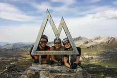 On the summit :) (sylweczka) Tags: mountains alps switzerland climb tour viaferrata furen sylweczka tälli gadmerflue