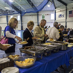 """<b>Football Alumni Gathreing</b><br/> Former football players and their families gathered for a luncheon over homecoming weekend to celebrate 100 years of Luther College football. Photo by Breanne Pierce<a href=""""http://farm8.static.flickr.com/7450/10139475113_af6a3bbc8c_o.jpg"""" title=""""High res"""">∝</a>"""