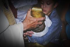 (unboutdevie) Tags: baptme parrain pretre baptiser
