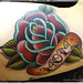 Mom Rose Tattoo
