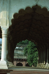 Agra Red Fort आगरा का किला Uttar Pradesh India Feb 1990 084 (photographer695) Tags: taj agra mahal india red fort आगरा का किला uttar pradesh feb 1990