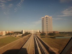 on the monorail train (DieselDucy) Tags: dallas elevator ascensor dart elevador lyfta 2013 lyftu