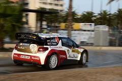 10 AL QASSIMI . CITROËN DS3 WRC . 2013 Rally RACC  DSC_4352e (antarc foto) Tags: al qassimi khalid martin scott uaegbr citroën ds3 wrc abu dhabi total wrt fra nikon d7000 nikkor 18105 vr afs dx salou 2013 rally racc catalunya costa daurada de españa rallying car race competition ral·li racing championship stage special world spain
