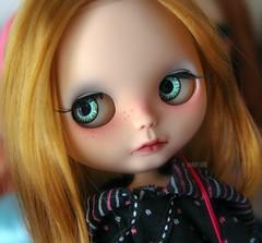 My new custom girl, Strawberry :)