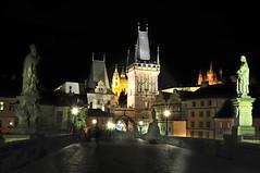 PRG_4764 (Dr Manaan Kar Ray) Tags: bridge architecture night nocturnal prague charles