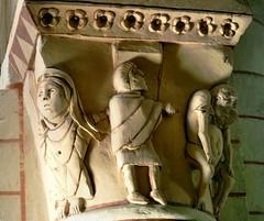 Oyr - Saint-Sulpice (Martin M. Miles) Tags: france muslim moor captive 86 vienne saintsulpice reconquista alexanderiii poitoucharentes oyr sulpicelepieux