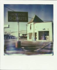 Jack Frost Donuts - Cleveland (Franki Blaise) Tags: street fall vintage polaroid cleveland donuts jackfrost