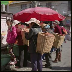 backskets (beetabonk) Tags: china 120 6x6 mediumformat square  yunnan dali   hasselblad500cm fujipro160ns carlzeisstplanar2880cf cndahb80160ns1304012