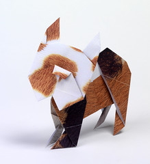 Origami création - Didier Boursin - Bulldog