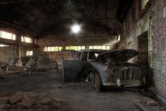 Stalled (Sshhhh...) Tags: abandoned car decay demolition explore croft urbanexploration end explorers exploration derelict decayed raf ue uninvited urbex sshhhh