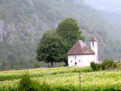 De kerk van Thethi