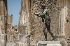 Temple of Apollo (_Codename_) Tags: italy statue honeymoon pompeii apollo templeofapollo