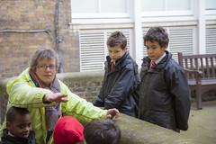 Great Fire of London Walk 10 (Abercorn School, London) Tags: history trips year2