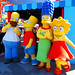 Homer, Bart, Marge and Lisa Simpson