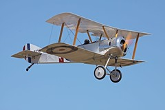 Sopwith Pup (joolsgriff) Tags: australia replica airshow pup sopwith raafmuseum tyabb