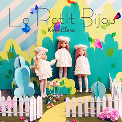 Le Petit Bijou (kukuclara) Tags: cute girl french toy toys amber doll pretty dolls korean kawaii collectible sunkissed olivine garnet kukuclara
