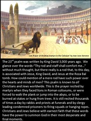 Roman Coliseum, 'thy rod and staff shall comfort me.'  The meaning is more profound than most people realize. www.rozabal.com (Author-The DNA of God Project) Tags: afghanistan worship cross god muslim islam religion buddhism graves creation mohammed bible astronomy safiya christianity generations hindu prophet himalayas fatima crucifixion excalibur muhammad jesuschrist kingarthur resurrection emc2 mothermary magdalene emptytomb ahmadiyya haplo tombofjesus swordinstone shias kashmirindia losttomb kinanah rozabal suzanneolsson dnaofgod yuzasaph