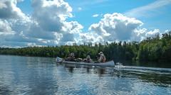 DSCN0649.jpg (jn3va) Tags: water clouds canoe scouts northern tier