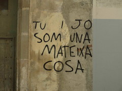 POESIA DE CARRER (PESTAWINE (l'àlter ego del Miquel)) Tags: street streetart love calle poetry grafitti message amor catalonia poesia catalunya carrer artecallejero katalonien catalogne mensage vilanovailageltrú missatge artdecarrer