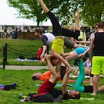 Bocce and Partner Acrobatics in the Park 40977 thumbnail