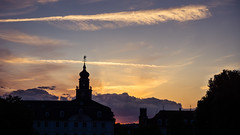 Saarbrücken (designladen.com) Tags: dsc03810 pwpartlycloudy day sunset inexplore explore