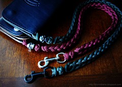 Maroon and olive drab paracord lanyards (Stormdrane) Tags: camping black leather shopping walking keys skull design cow diy belt emerson fishing keychain keyring sailing loop hiking trucker wallet maroon decorative military nail knife knit tie craft utility knot hobby ring jeans backpacking gift boating grins geocache bead flashlight biker nickel safe edc pewter weave hollow hitch braid scouting spool everydaycarry rivet useful lanyard attach swivel paracord retention beprepared bushcraft retain lossprevention olivedrab cotterpin blackoxide larkshead snaphook 550cord stormdrane 2peg schmuckatelli