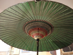 "HUGE CHINESE PAPER UMBRELLA, THREE AVAILABLE. • <a style=""font-size:0.8em;"" href=""http://www.flickr.com/photos/51721355@N02/14169929865/"" target=""_blank"">View on Flickr</a>"