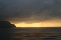Kauai: 5/9/2014 (apardavila) Tags: sunset clouds hawaii pacificocean kauai princeville hanaleibay stregisprincevilleresort