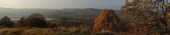 The village from the hill - Varbó, Hungary (๑۩๑ V ๑۩๑) Tags: autumn panorama mountain fall nature rural landscape vineyard hungary village pano hill natura hungria bükk magyarország varbó