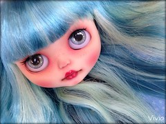 Blythe FBL Mandy Cotton Candy custom #27