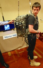 DARPA Warrior Web — The Harvard Approach (jurvetson) Tags: is technology sfo web harvard research agency gathering exoskeleton warrior projects biology defense advanced darpa robosuit