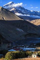 Dusk @ Kagbeni, Annapurna Circuit, Nepal (Feng Wei Photography) Tags: travel nepal color vertical trek landscape asia outdoor dusk tibetan remote mustang np annapurnacircuit annapurna himalayas kagbeni dhaulagiri westernregion annapurnaconservationarea